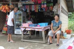 Mein Tante-Emma-Laden an der Ecke zuhause in Mae Sai