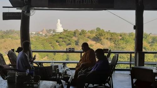Kaffee und Kuchen in Chiang Rai