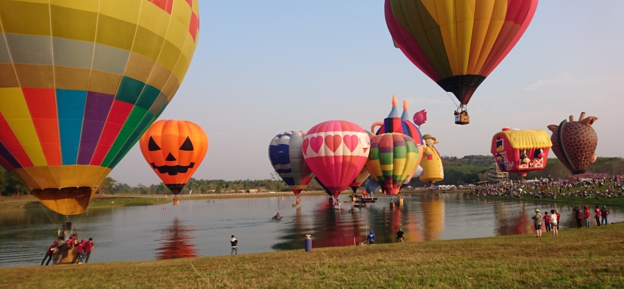 International Balloon Festival Chiang Rai 2019