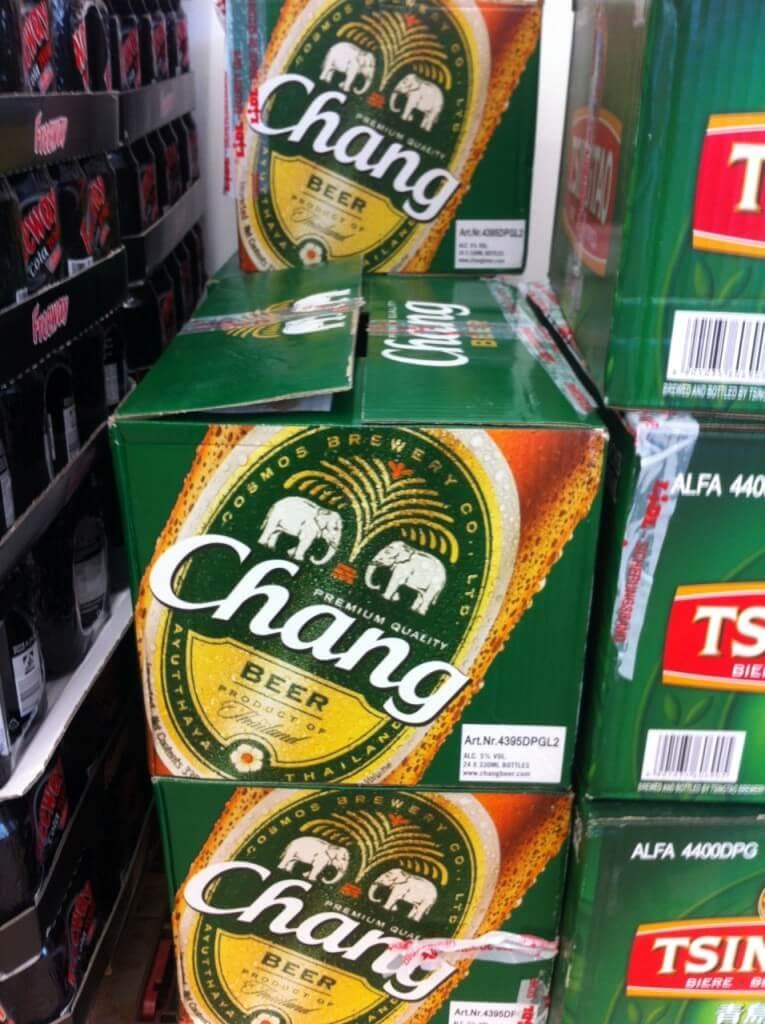 Chang-Bier aus Thailand bei Lidl