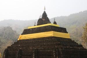Chedi am Wat Tham Pla-s