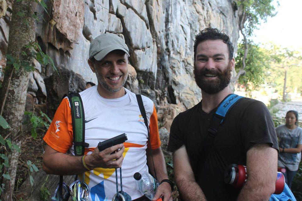 special climbing gear in Mae Sai Thailand