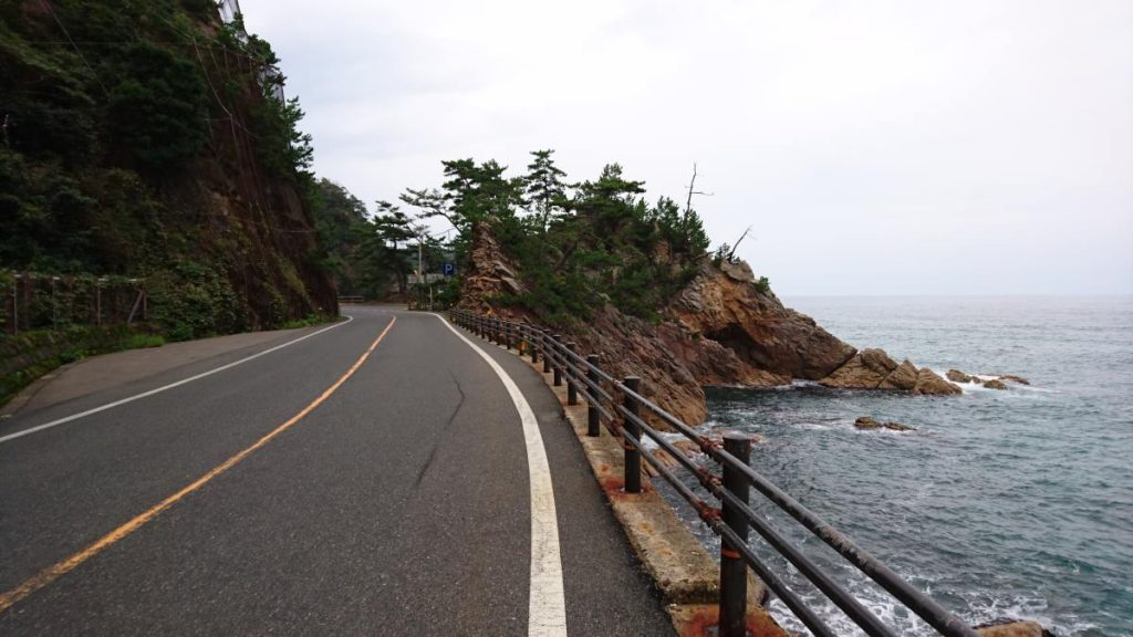 japanese coastline