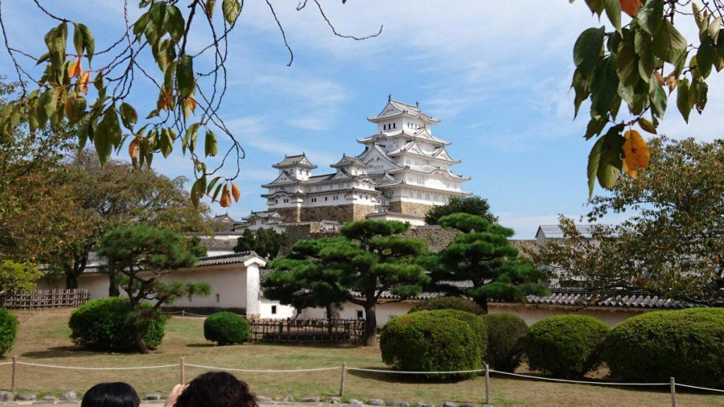 Cycling Himeji Castle