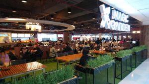 Magic Garden - leckeres Essen am Flughafen