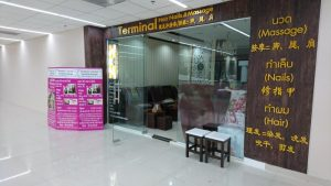 Massage am Flughafen Don Muang in Bangkok