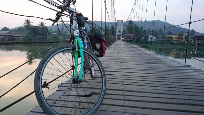 Radtour Chiang Mai Vientiane
