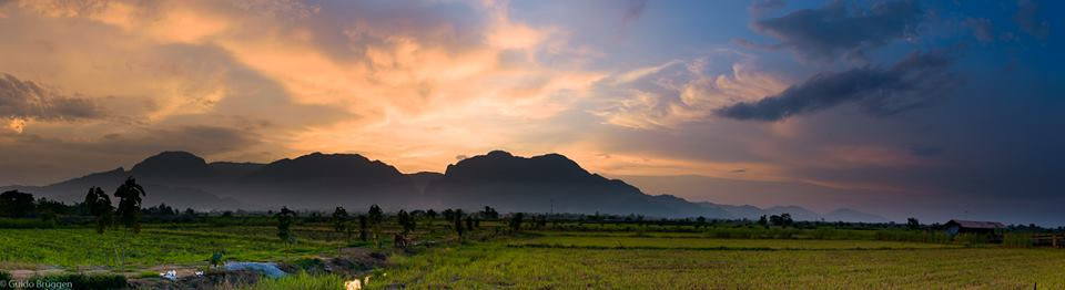 Doi Nang Noon in der Provinz Chiang Rai