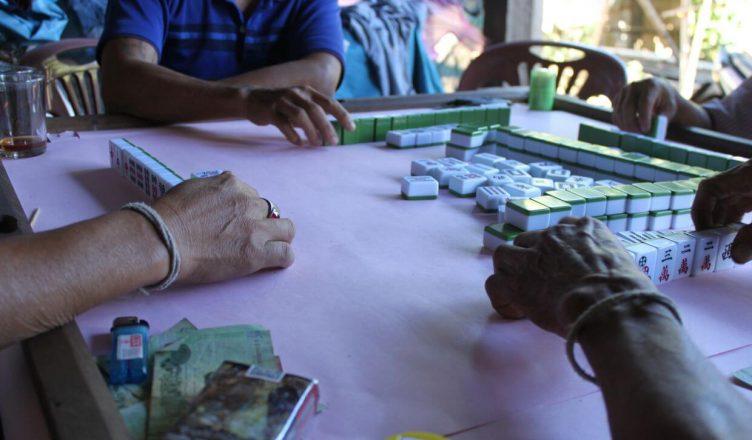Geldspiel in Thailand