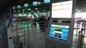 Taxistand Flughafen BKK