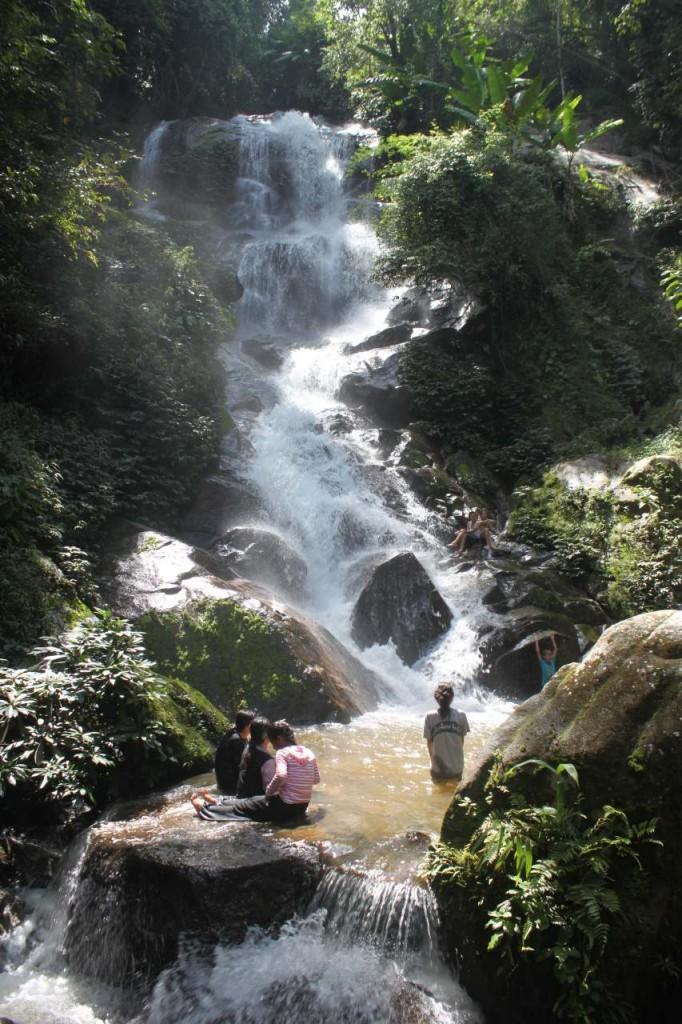 Huay Gaew Wasserfall bei Chiang Rai Nordthailand