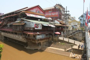 Der nördlichste Punkt Thailands von der Brücke nach Myanmar
