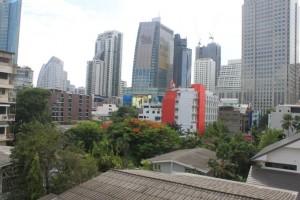 Übernachtung Bangkok Balkon