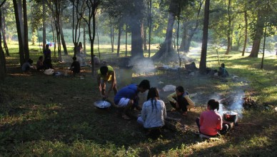 Liam Nam Kok Nationalpark Thailand