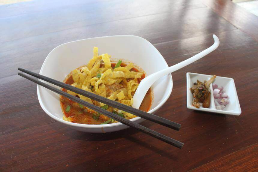 Khao Soi Curry aus Nordthailand