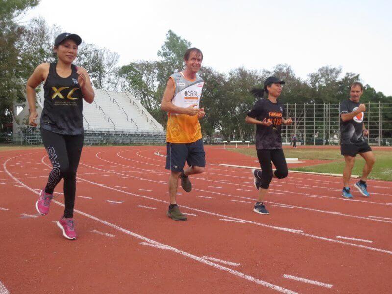 Lauftraining im Triathlon Camp