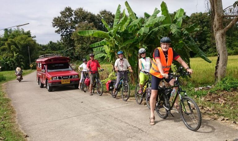 Seniorenradtour um Chiang Mai