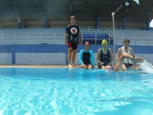 Schwimmtraining im Triathlon Camp