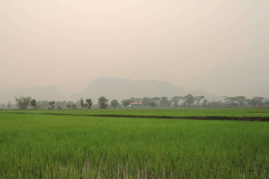 hohe Feinstaubbelastung in Mae Sai