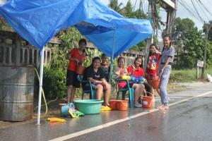 Songkran in Mae Sai