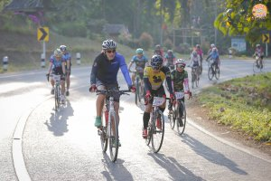 """""""We remember Mae Fah Luang"""" bicycle event"""