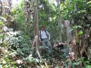 Susi und Gan im Wald
