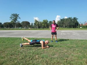 Training am alten Flugplatz Chiang Rai