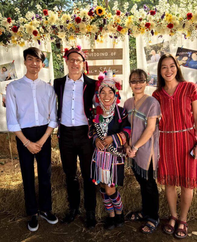 Hochzeit in Thailand - Gäste