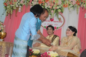 Eine schöne Zeremonie