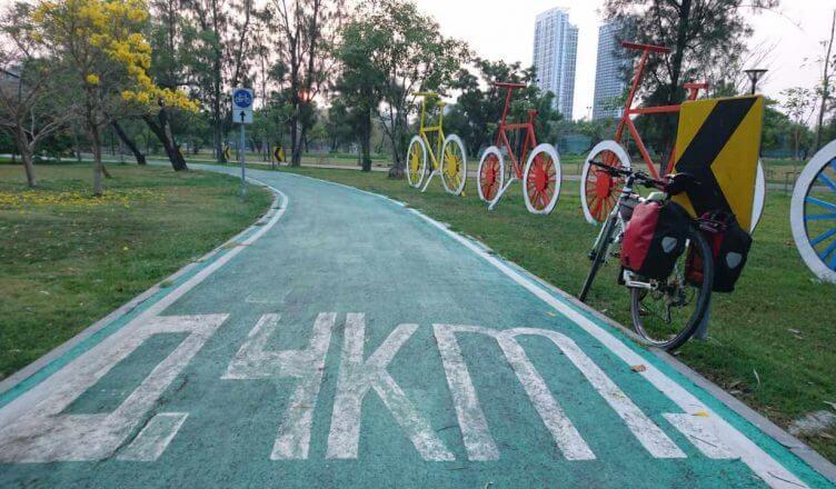 Cycling at Chatuchak