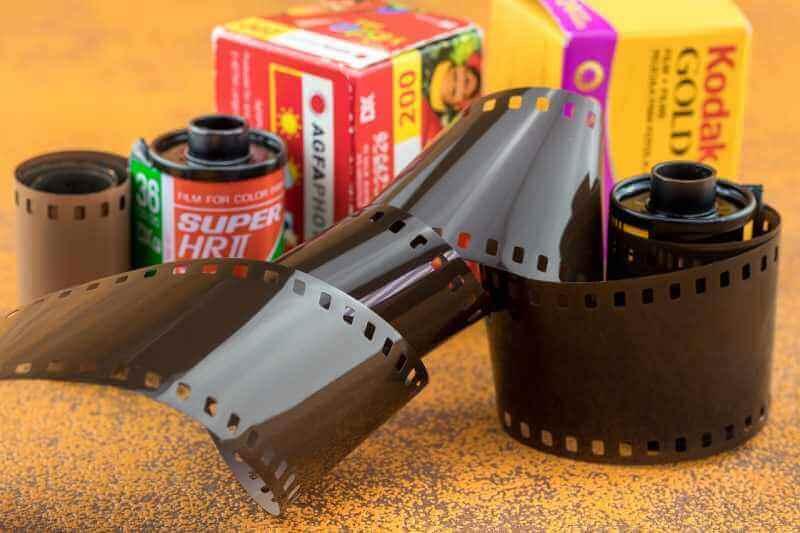 Agfa oder Kodak Filmdose