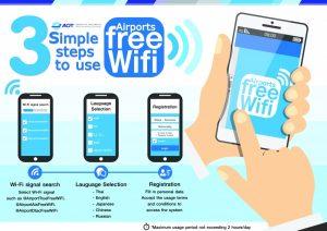 free Wifi Suvarnabhumi Airport Bangkok Thailand