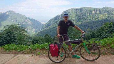 Fahrradfahren am Doi Tung