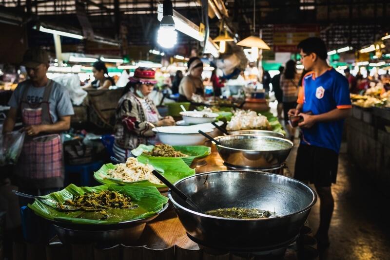 Nachtmarkt Chiang Rai